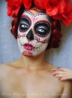 Sugar Skull II by KatherinBathory