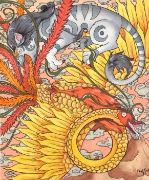 The Retarded Phoenix by frowzivitch