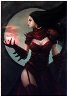 Sorceress by dominuself