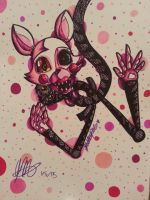 Mangled Up, Mangle FNaF 2 by KhyberFanGirl101
