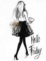 Hello Friday by katiebloo