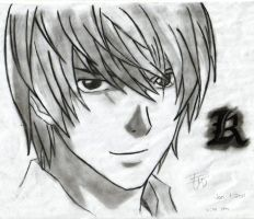 Death Note Light Y. by:CBMD by Notetaker22