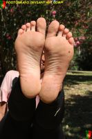 Taiza's Dirty Feet 4 by Footografo