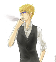 shizuo doodle by CoOlilaZn