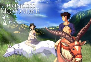 princess mononoke by reda22