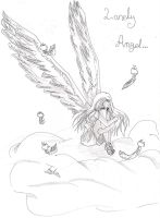 lonely angel by anime2008