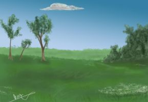 Background Practice by byrch