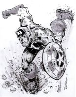 Captain America by bathill8