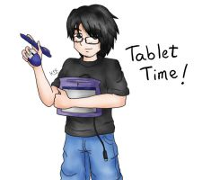 Tablet Time by KrlosKmask