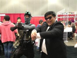 Sam Fisher meets PSY by W4RH0US3