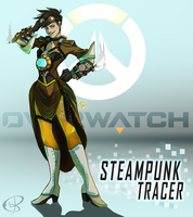 Overwatch: SteamPunk Tracer by Wolf-of-DirtyPaws