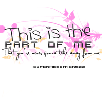 Part Of Me PNG Text by CupcakeEditions22