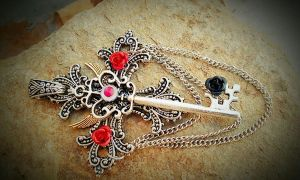 Holy Trinity Fantasy Key by ArtByStarlaMoore