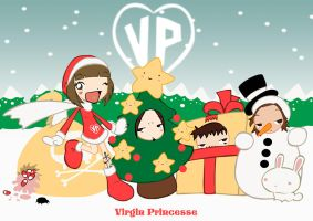 Virgin Princesse Xmas by Nicohitoride
