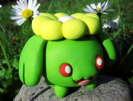 Skiploom Sculpture by caffwin