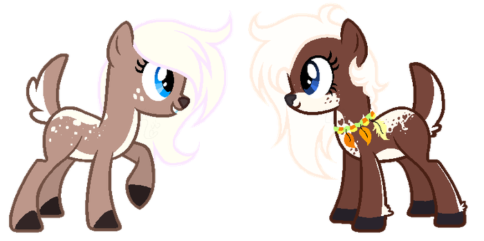 Gingersnap meets her Alternate by Deliriush