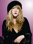 Stevie Nicks by WizardofFalalas