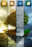 4 Seasons Of The Island by ViniciusCarbonera