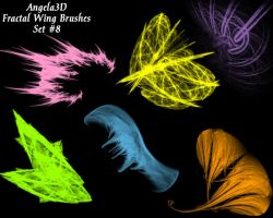 A3D Fractal Wings Set 8 by angela3d