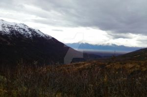 Alaskan Transition (valley overlook 3) by Howl-n-Hart