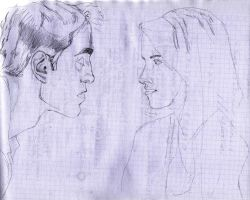 Edward and Bella (WIP) by Lidia6277