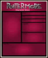 Pottermore Character Sheet by Hehewuti