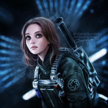 Rogue One: A Star Wars Story: Jyn Erso by daekazu