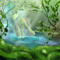 Forest Shower by PonyGoggles