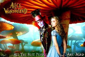 Hatter and Alice by Linz5460