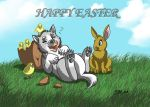 HAPPY EASTER FROM MIRARI by RUNNINGWOLF-MIRARI
