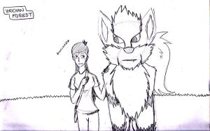 Animation Sketch by CrossBreed777
