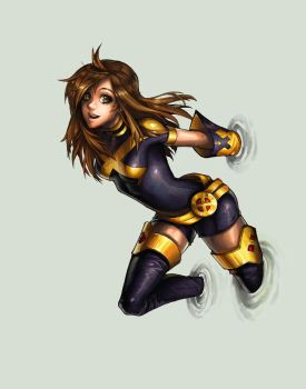 Women of X-men :: Shadowcat by AkhMorn