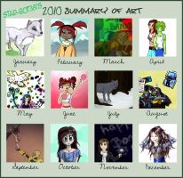2010 summary of art by star-bot381