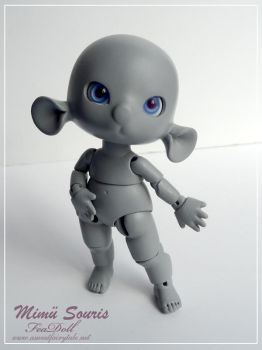 Feadoll Mimu Souris mouse by Nailyce