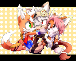 Comm: Mari-the-fox by Akusuru