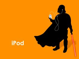 iPod Darth by anrenee