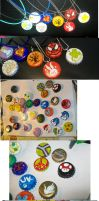 Bottle Cap Jewelry Art by MandyDandy-02