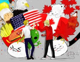 APH: America and Canada by identityLOST-NOname