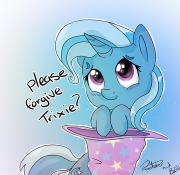 [Collab] Please Forgive Trixie by PucksterV