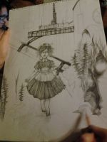 bioshock art progress by soanvalentine