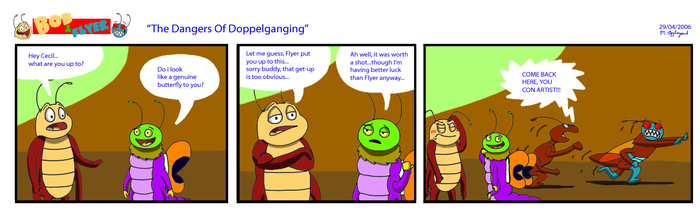 B'n'F - The Dangers of Doppelganging by BluebottleFlyer