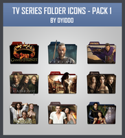 TV Series Folder Icons - Pack 1 by DYIDDO
