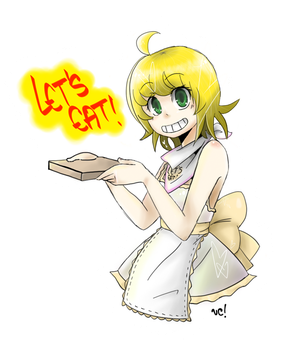 Let's eat! - Chica by chachi-pistachi14