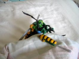 Waspinator celebrates the 10th by SilSolo