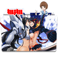 Kill la Kill - Icon Folder by ubagutobr