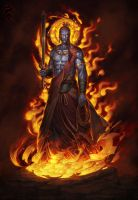 Fudo-Myoo the demons slayer by Sgt-lonely