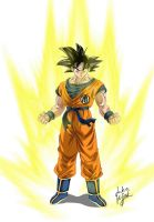 Goku Base Form by dokk1e