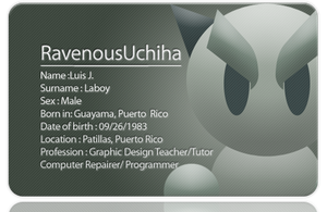 Deviant ID Card by RavenousUchiha