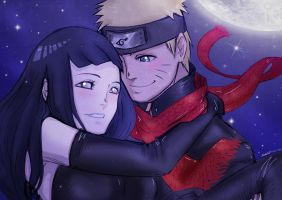 The Last NaruHina Colored by Stray-Ink92