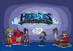 Heroes of the storm minis by IceBridget